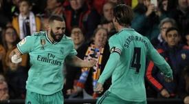Benzema quiere ganar el campeonato. EFE
