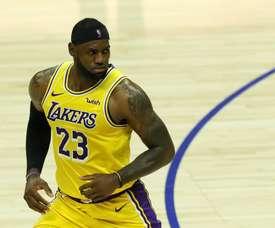 LA Lakers forward LeBron James. EFE/EPA/ETIENNE LAURENT/Archivo