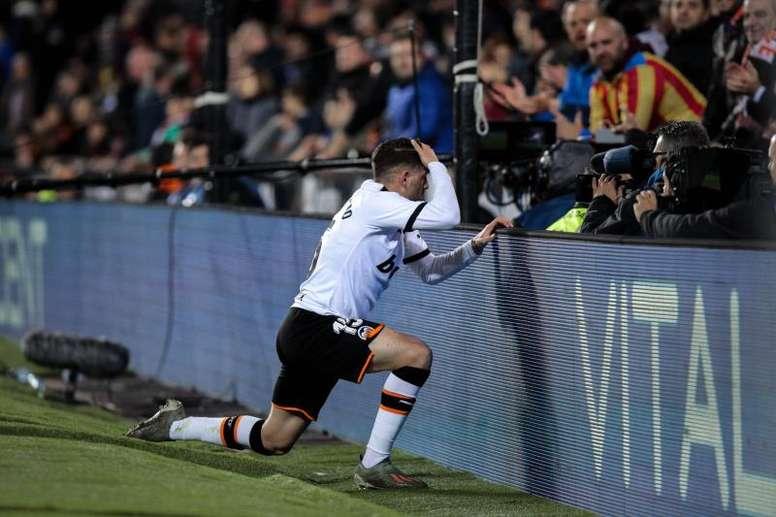 El Valencia no cierra los partidos. EFE