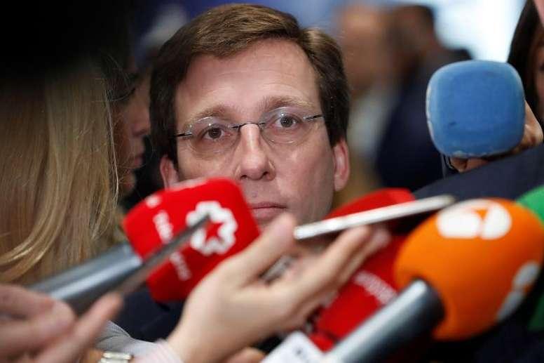 Martínez-Almeida opinó sobre la eliminación del Atético. EFE