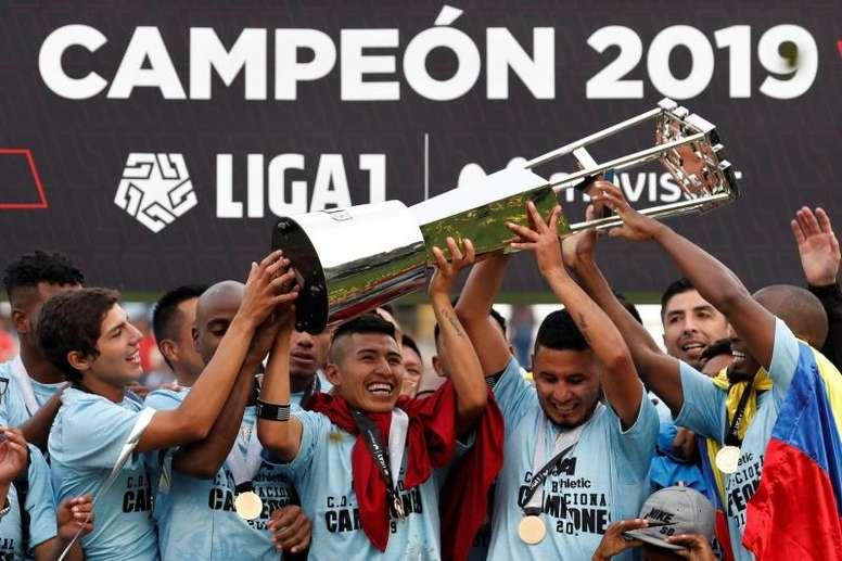 Del fútbol amateur a ganar Primera... en solo dos años. EFE/Paolo Aguilar