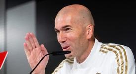 Zidane se acerca al podio histórico del Real Madrid. EFE