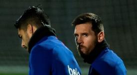 Diez píldoras de la entrevista a Messi. EFE/Enric Fontcuberta