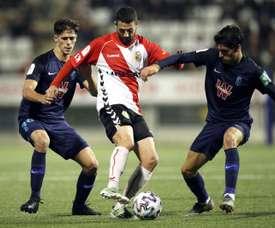 Martínez se cae a última hora del Granada-Real Madrid. EFE