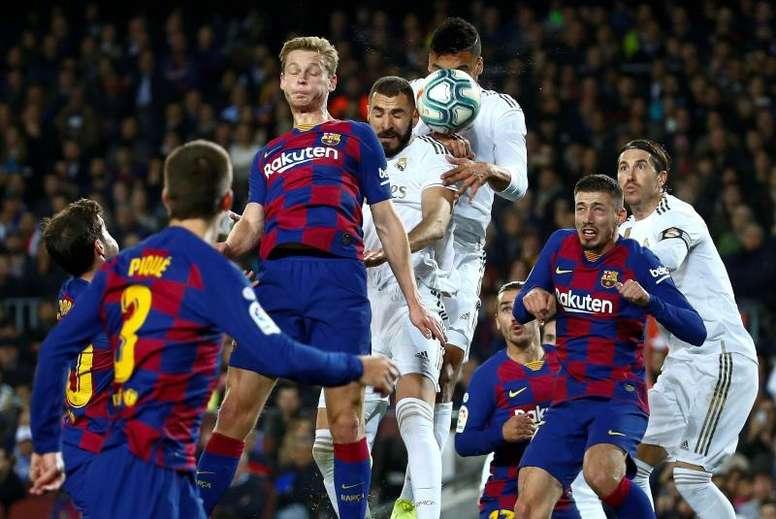Tebas puso día y hora al 'Clásico' del Bernabéu. EFE/Enric Fontcuberta