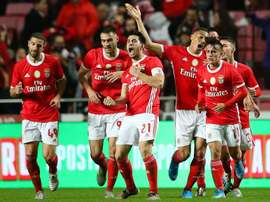 Benfica vence o Liége por 3 a 0. EFE/TIANGO PETINGA