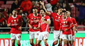 Victoria del Benfica. EFE