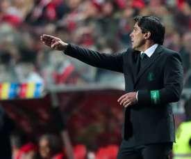 Boavista espera luchar por Europa con Daniel Ramos al frente. EFE