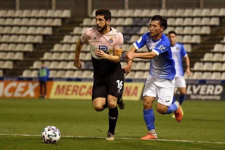 Wu Lei lame las heridas ante el Lleida - BeSoccer