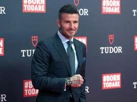 Beckham teve que escolher entre o desfile de Victoria e o amistoso do Inter Miami. EFE