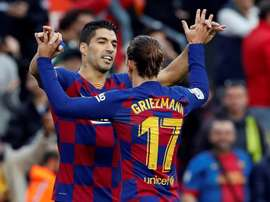 Suarez, out for four months. EFE