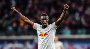 El RB Leipzig, campeón de invierno 2019. EFE/EPA/FILIP SINGER