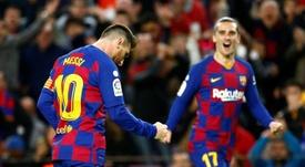 Messi apunta a la Copa. EFE/Eric Fontcuberta