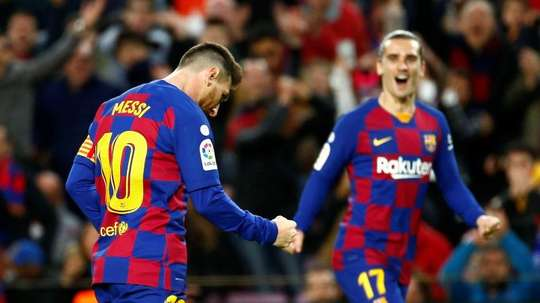 Que se passe-t-il avec Griezmann et Messi ? EFE