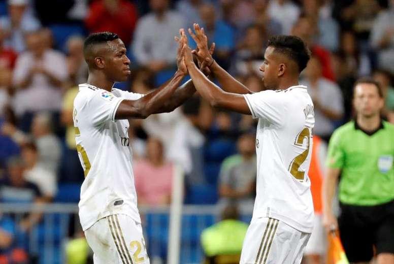 Rodrygo e Vinicius estão entre os 40 indicados ao Golden Boy. EFE/ JuanJo Martín/Arquivo