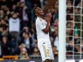 Zidane deixa Vinicius de fora e chama Rodrygo. EFE