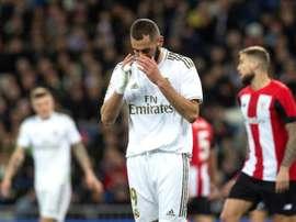 Le Real Madrid à la recherche d'un 9. EFE