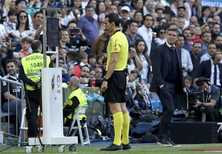 La UEFA solicitará rehacer el VAR. EFE