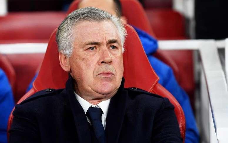 Ancelotti se refirió al Liverpool-Atleti. EFE/EPA