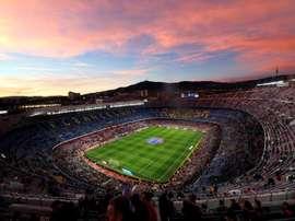 Os titulares de Barcelona e Eibar. EFE/ Alejandro García
