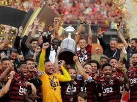 Flamengo e Independiente del Valle decidirão o título da Recopa. EFE/Antonio Lacerda/Arquivo