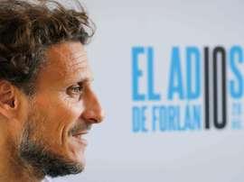 Forlán fue designado como nuevo técnico de Peñarol. EFE