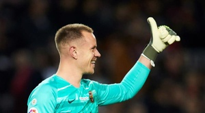 Ter Stegen returns for Barca's match with Granada. EFE