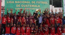 Municipal se corona rey de reyes en Guatemala. EFE