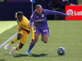 Leicester veut boucler l'arrivée de Wagué . EFE/Juan Carlos Hidalgo/Archivo