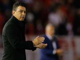Le Barça garde un oeil sur Marcelo Gallardo. EFE