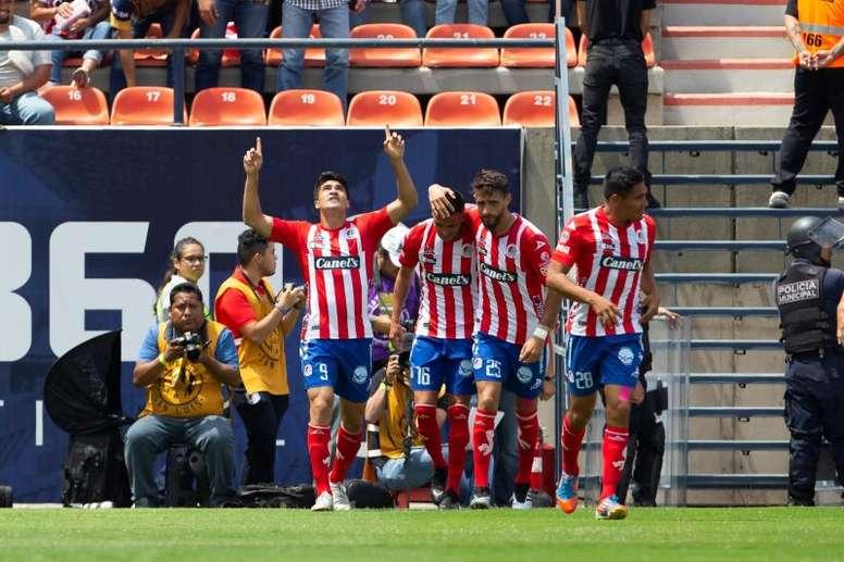 Ibáñez anotó un doblete. EFE/ Francisco Guasco/Archivo