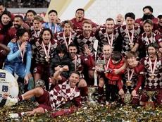 El Vissel Kobe, campeón de la Copa Emperador. EFE/EPA