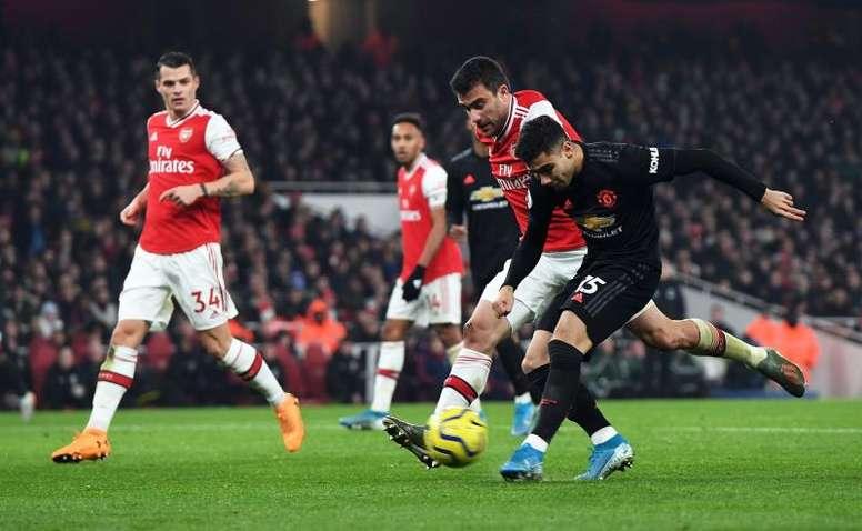 Andreas Pereira pode deixar o Manchester United ainda em 2020. AFP