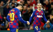 Messi looks towards Copa del Rey. EFE