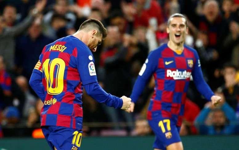 Suárez desfalcará o Barça por meses. EFE