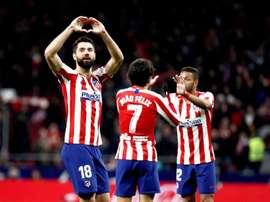 Felipe brincou com o perigo contra o Leganés. EFE