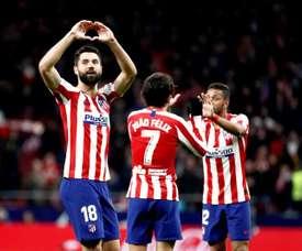 He has been one of Atlético's best players. EFE