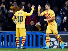 Les compos probables du match de Liga entre Barcelone et l'Espanyol. EFE