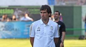 Raúl parece en estos momentos la única alternativa a Zidane. EFE/Archivo