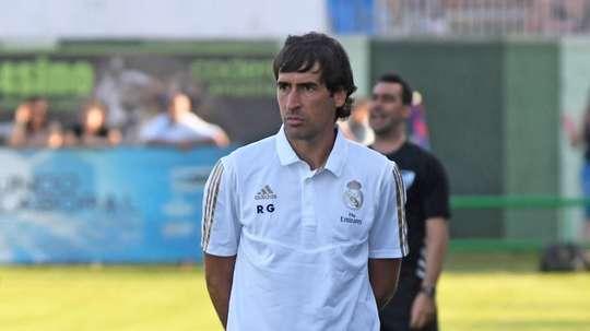 Raúl González, Real Madrid Castilla's manager. EFE/
