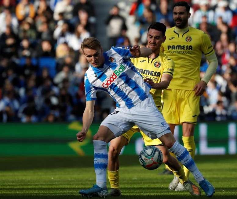 El Villarreal y la Real comparten sueño en La Cerámica. EFE