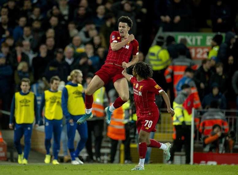 El Liverpool venció 1-0. EFE