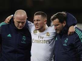 El Real Madrid publicó el parte médico oficial en su web. EFE