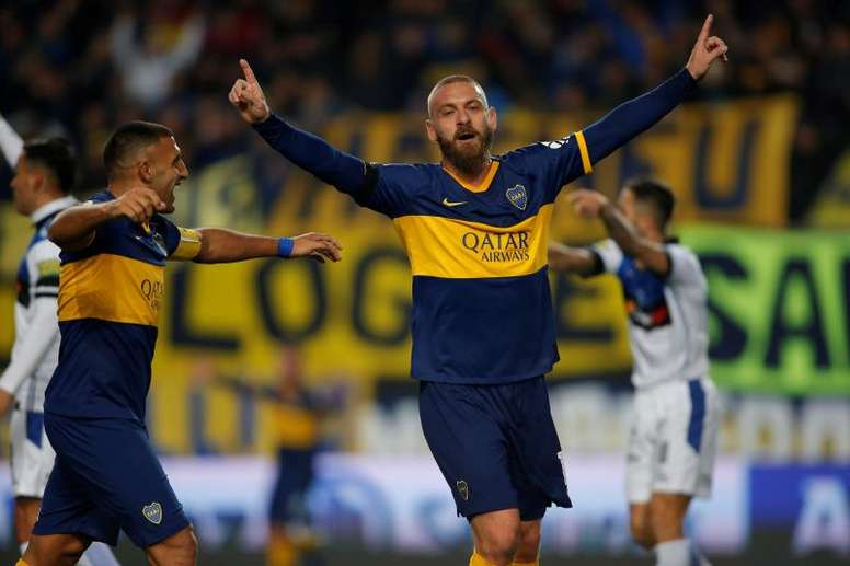De Rossi weighs in on Messi debate. EFE