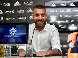 De Rossi débutera sa formation pour devenir entraîneur en avril. EFE