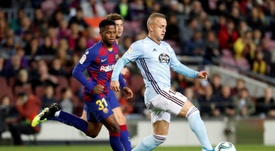 Accord imminent entre le Celta et Naples pour Lobotka. EFE
