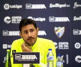 O treinador do Málaga é demitido. EFE