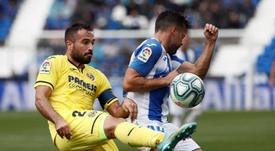 Mario Gaspar aseguró que el objetivo del Villarreal es jugar en Europa. EFE