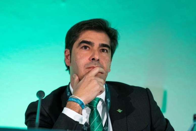 Ángel Haro asegura que Setién siempre fue candidato al Barça. EFE