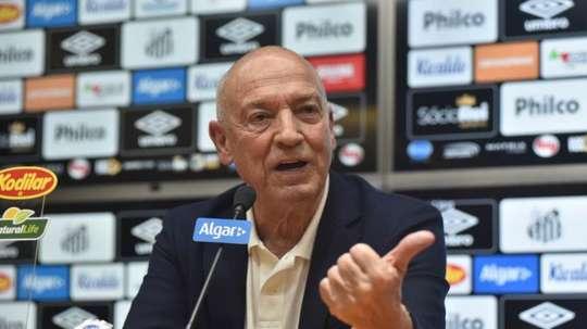 Jesualdo Ferreira não é mais técnico do Santos. EFE/Ivan Storti/Santos FC